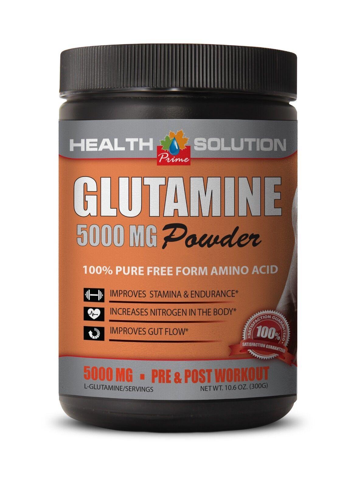 glutamine powder - GLUTAMINE POWDER 5000mg - muscle growth s