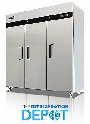 Migali C-3f Three-door Commercial Reach-in Freezer 72 Cu. Ft- Free Shipping