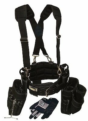 Gatorback Ultimate Electricians Package. Belt+Suspenders+Glo