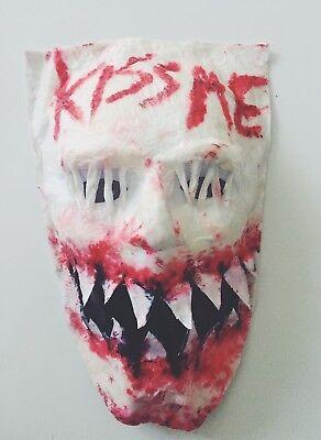 The Purge Kiss Me Candy Girl Maske Halloween Election Year ()