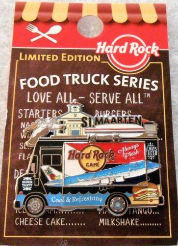 HARD ROCK CAFE - ST MAARTEN - FOOD TRUCK SERIES - VERY HARD TO FIND - NEW !