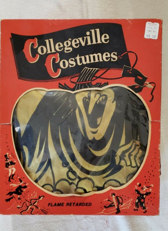 Vintage Collegeville Halloween Costume Witch, Large Adult. Mask added.