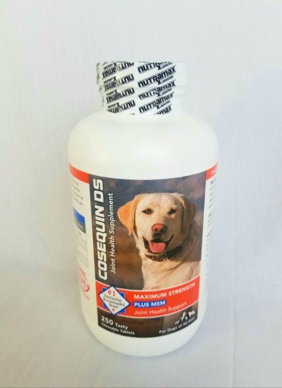 Nutramax Cosequin Maximum Strength Joint Supplement Plus MSM, 250 Count Dogs