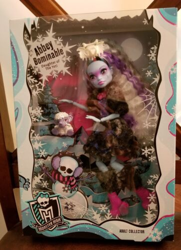 Monster High - Monster High Abbey Bominable 2017 Adult Collector Exclusive Doll -NIB NRFB MINT