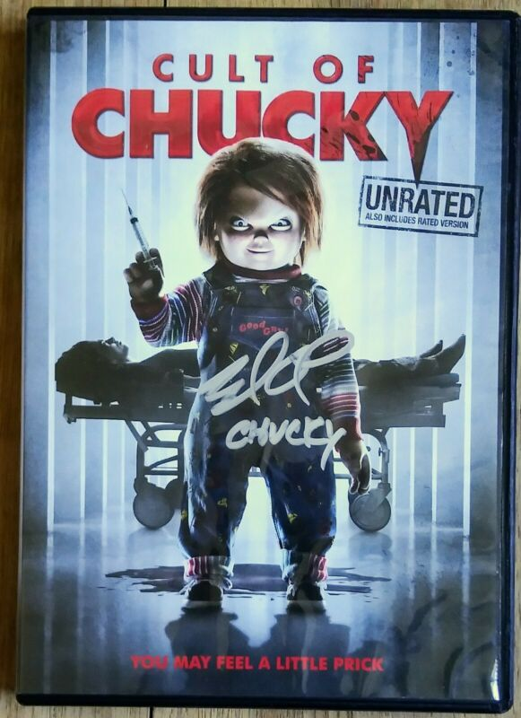 BRAD DOURIF AUTOGRAPHED HAND SIGNED CULT OF CHUCKY DVD - CHILD