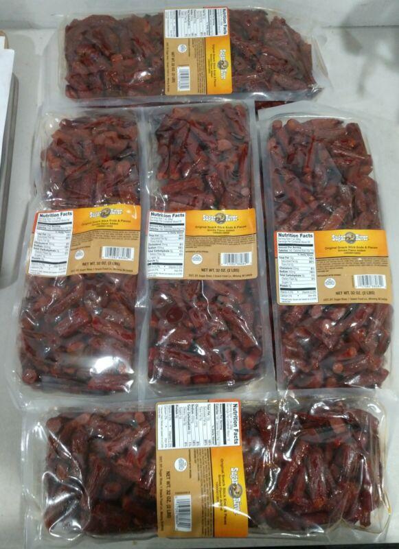 *Original* Snack Stick Ends/Pieces BULK 10 Pounds (5 bags x 2 lbs) Sugar River