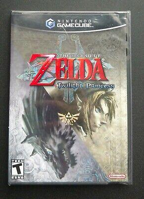 Legend of Zelda: Twilight Princess (GameCube, 2006) Factory Sealed!!! New!!! comprar usado  Enviando para Brazil