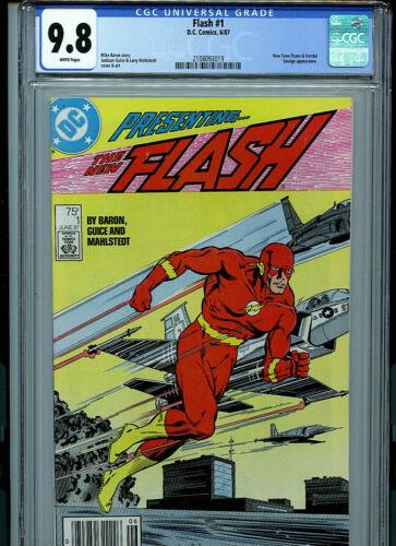 Flash #1 CGC 9.8 NM/MT  1987 DC Comics Amricons B8