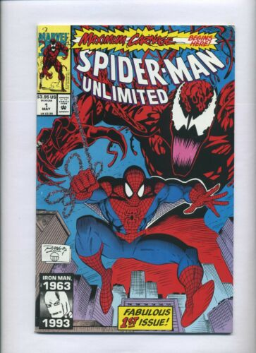 Marvel Comics Spider-man Unlimited 1 Fine+ 1st Shriek Maximum Carnage 1993 Venom