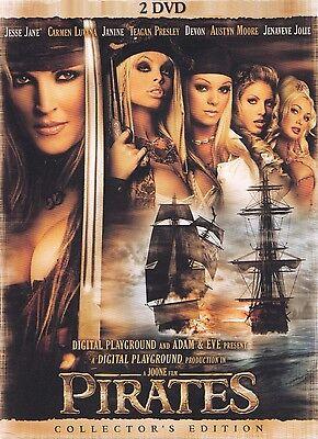 Pirates   Jesse Jane  Carmen Luvana   Janine All Reg  Sealed Uncut Dvd