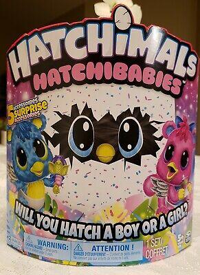 Spin Master Hatchimals HatchiBabies Cheetree Hatching Egg (6044071) - Brand New