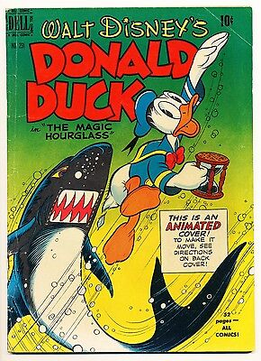 """Four Color #291 (1950) Donald Duck """"The Magic Hourglass"""" VG+ Barks c/a!"""