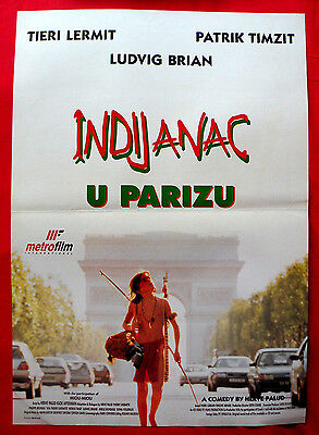 LITTLE INDIAN BIG CITY 1994 FRENC LUDWIG BRIAND PATRICK TIMSIT EXYU MOVIE POSTER
