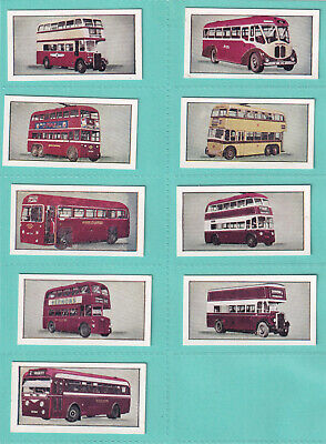 Beano Gum: This Age of Speed No.2 Buses & Trams (1954) 49...
