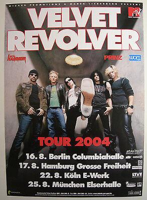 VELVET REVOLVER CONCERT TOUR POSTER 2004