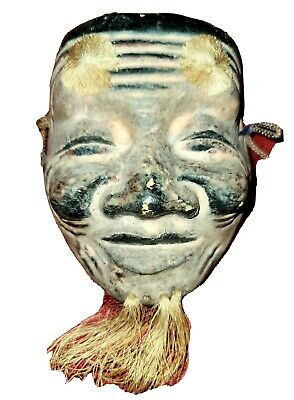 Japan Traditional Face Mask Woman Noh Kabuki Japanese Noumen Plastic NEW