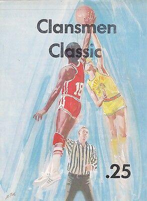 1974 Clansmen Classic Tournament High School Basketball Program  Keith Van Horne