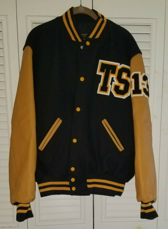 Taylor Swift Red Tour Varsity Jacket Size: Medium Black / Gold