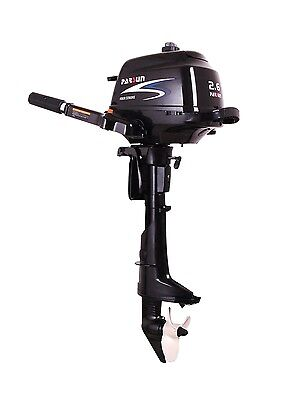 Parsun 2.6hp 4 Stroke Outboard Manual Start, Tiller, Short Shaft F2.6ABMS Engine
