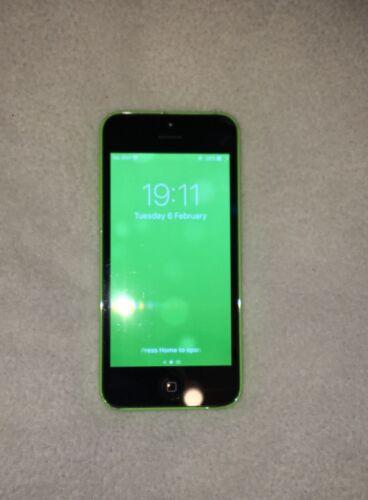 USED APPLE IPHONE 5C - 16GB - GREEN (UNLOCKED) SMARTPHONE