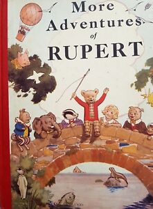 The More Adventures Of Rupert (1937 facsimile) Published 1986 - Numbered Edition