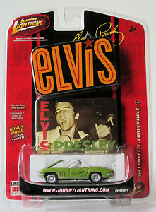 Johnny-Lightning-Rock-Art-Elvis-Presley-67-Corvette-Convertible