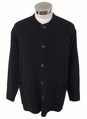 Yohji Yamamoto Y's for men black cardigan (000-495)