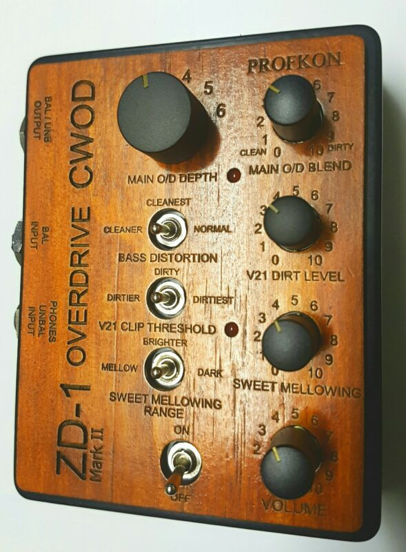 Profkon ZD-1 Mark II CWOD Overdrive for Hammond Clones & Synths & Plugins