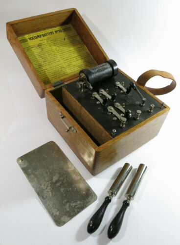 Rare Antique Early 1900s Montgomery Ward Battery No. 10 Quack Medical Apparatus