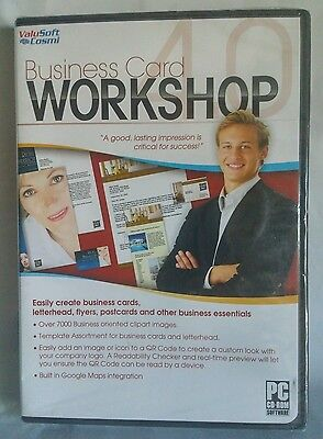 Business Card Workshop 4.0 Logo Graphics Software