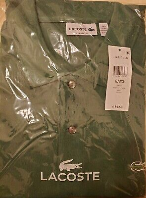 BRAND NEW! Sealed Unopened Lacoste Polo Shirt! Size 8