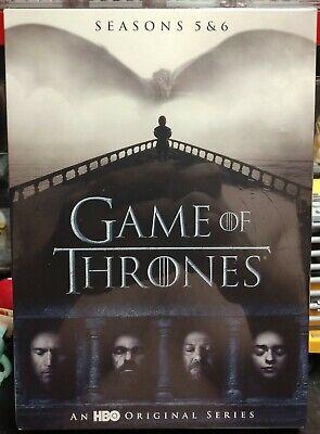Game of Thrones Season 5 & 6 DVD Brand New Sealed