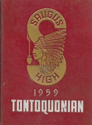 For sale High School Yearbook Saugus Massachusetts Saugus High School Tontoquonian 1959