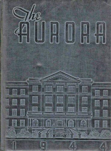 "1944 ""Aurora"" - Olivet College Yearbook - Kankakee, Illinois +"