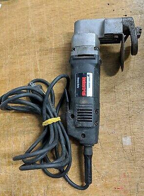 Black Decker Professional Model 3210 Heavy Duty 12 Gauge Metal Shear Nibbler