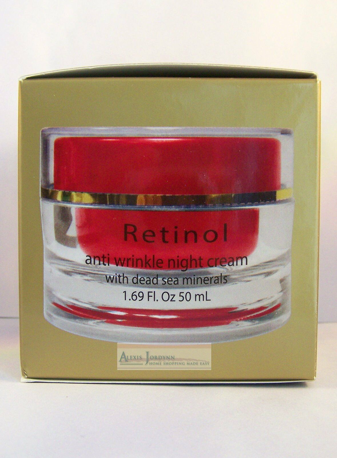 Dead Sea Collection & Retinol Anti Wrinkle Night Creams - Va