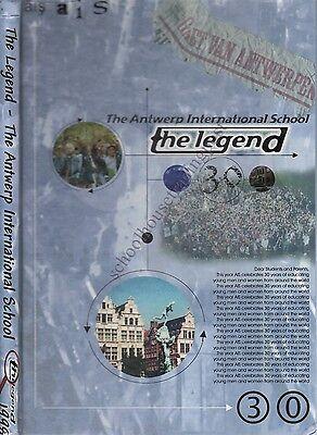 Yearbook Antwerp Belgium Antwerp International School Legend 1998