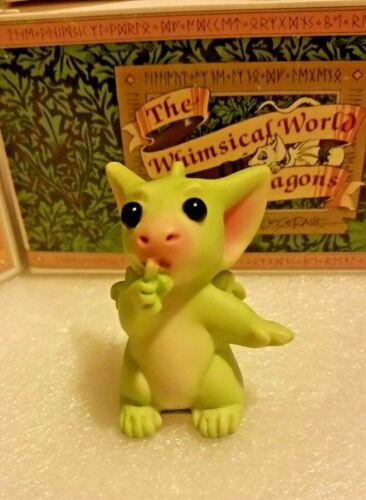 RL 💖 Pocket Dragons Dragon * Mint *  🙊Shhhh... 🙊* 2002 *
