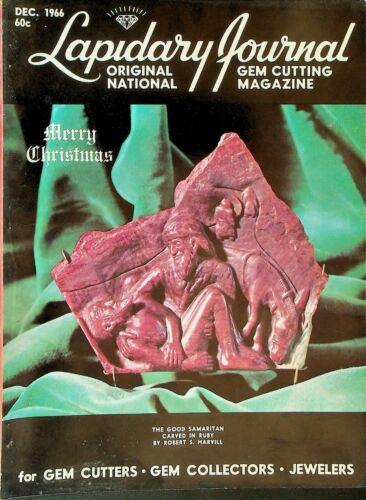 Lapidary Journal Gem Cutting Magazine December 1966 Suiseki Baja California