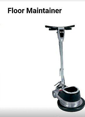 Clarke Fm-1700 17 Floor Polisher Scrubber Sander Buffer Cleaning Machine Used