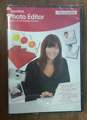 Woolworths Photo Editor   Image And Photo Editing Software  Pc Cd Rom