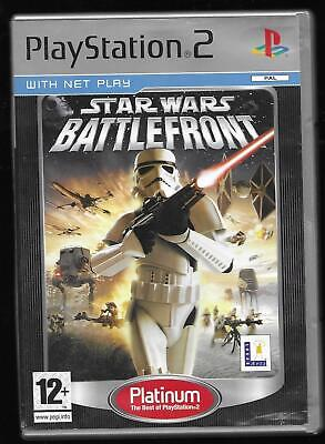Star Wars Battlefront 2 Playstation 2 game