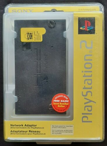 PLAYSTATION 2 Network Adapter By SONY - VINTAGE - NEW/FACTORY SEALED