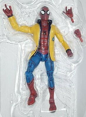 "Marvel Legends SPIDERMAN 6"" Figure Homecoming Movie Yellow Jacket Coat Target"