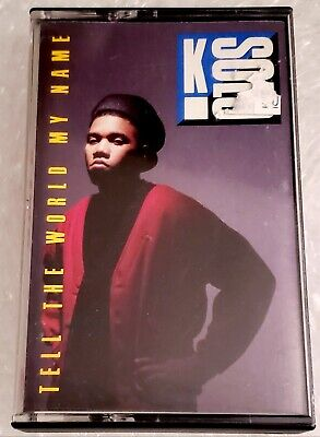 K Solo Tell The World My Name Original Cassette Tape Rap Hip-Hop  Solo Hip Hop
