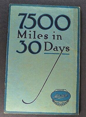 1915 Mitchell 7500 miles Catalog Sales Brochure Excellent Original 15