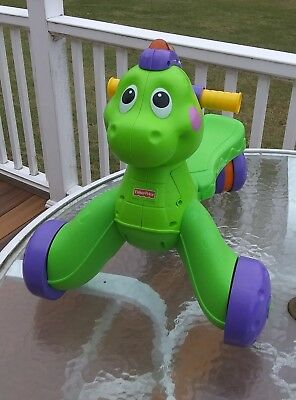 Fisher Price Go Baby Go Stride-to-Ride Dino -* NO SHIPPING - LOCAL PU in NJ
