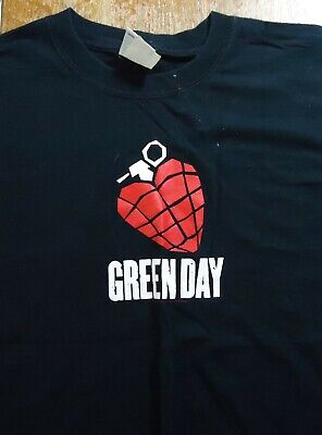 Vintage Green Day American Idiot T Shirt (Large)
