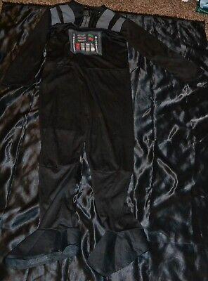 Darth Vader Vador Star Wars Starwars Halloween Costume Fits Kids Size M 8-9-10