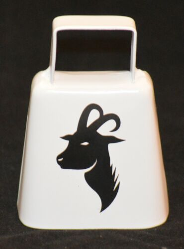 New Large Cow Bell with Goat Picture Goat Collars Decoration